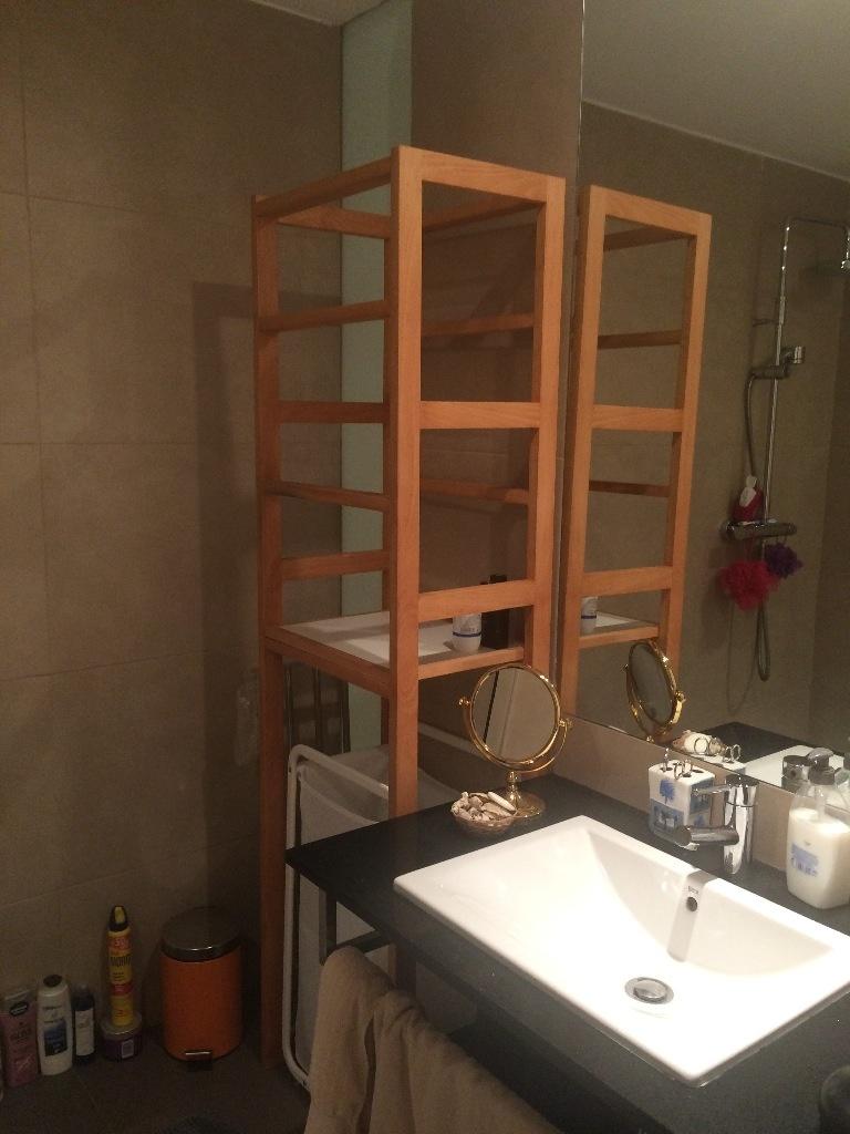 fabriquer meuble salle de bain
