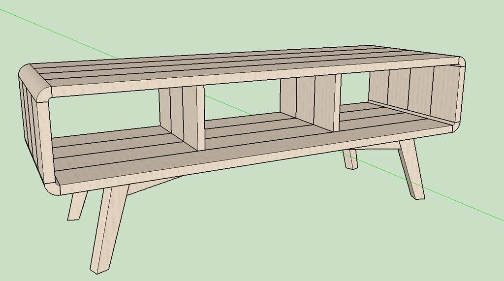 fabriquer un meuble télé