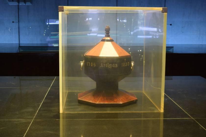Urna do General Artigas