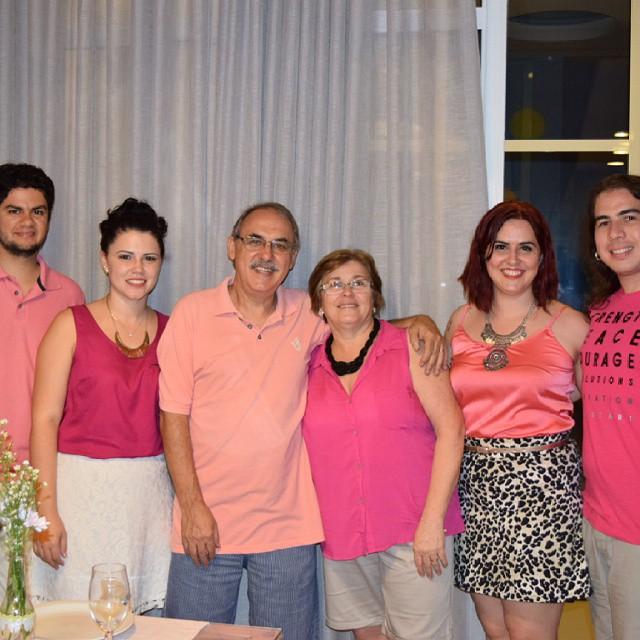 Marcelo, Larissa, Luiz, Neuza, Narjara, Fabian