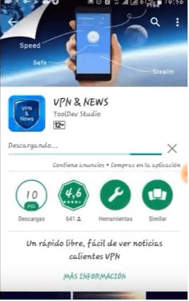 conectar vpn & news apk android