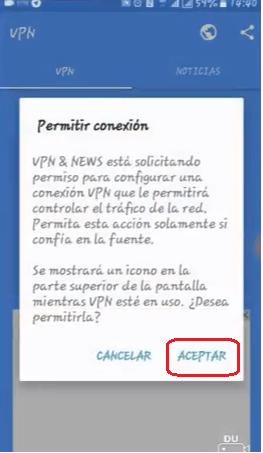 configurar vpn & news apk android