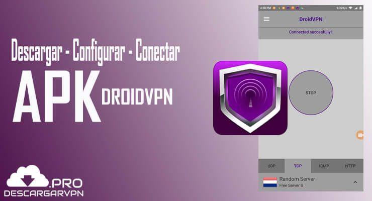 descargar droidvpn apk configurar y conectar android