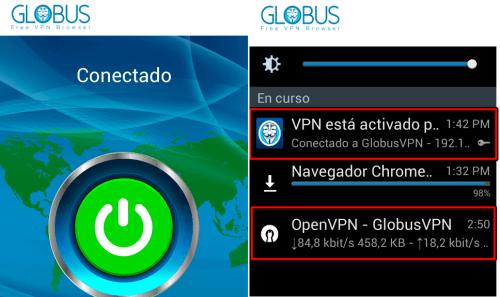 descargar globus vpn para android gratis