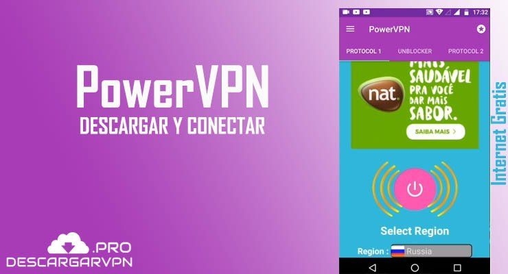 descargar power vpn gratis plus apk internet gratis