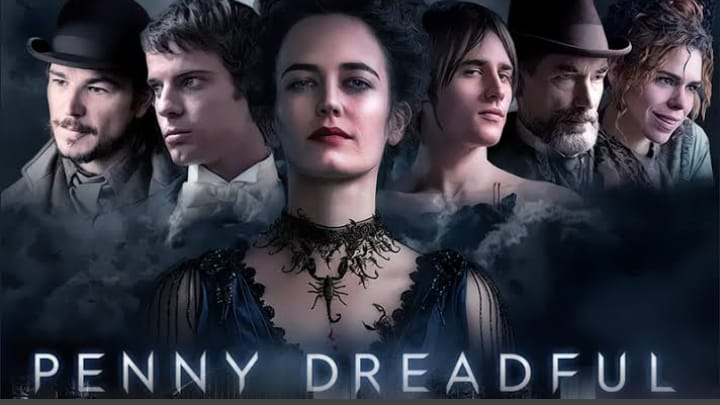 Penny Dreadful (Temporadas 1-3) HD 720p (Mega)