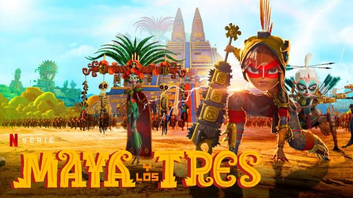 Maya y los tres (Temporada 1) HD 720p (Mega)