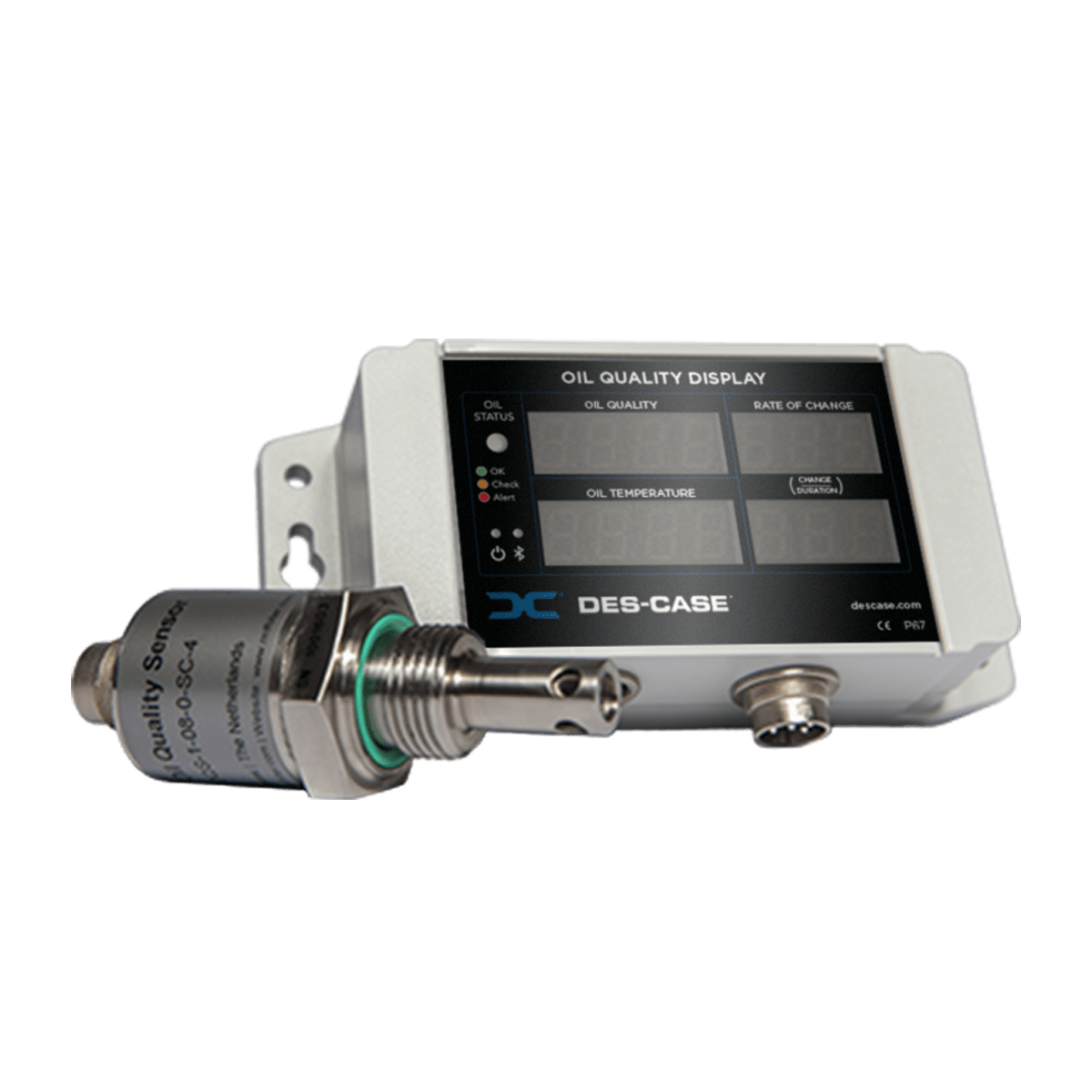 Des-Case Condition Monitoring Oil Quality Display and Sensor 3.2