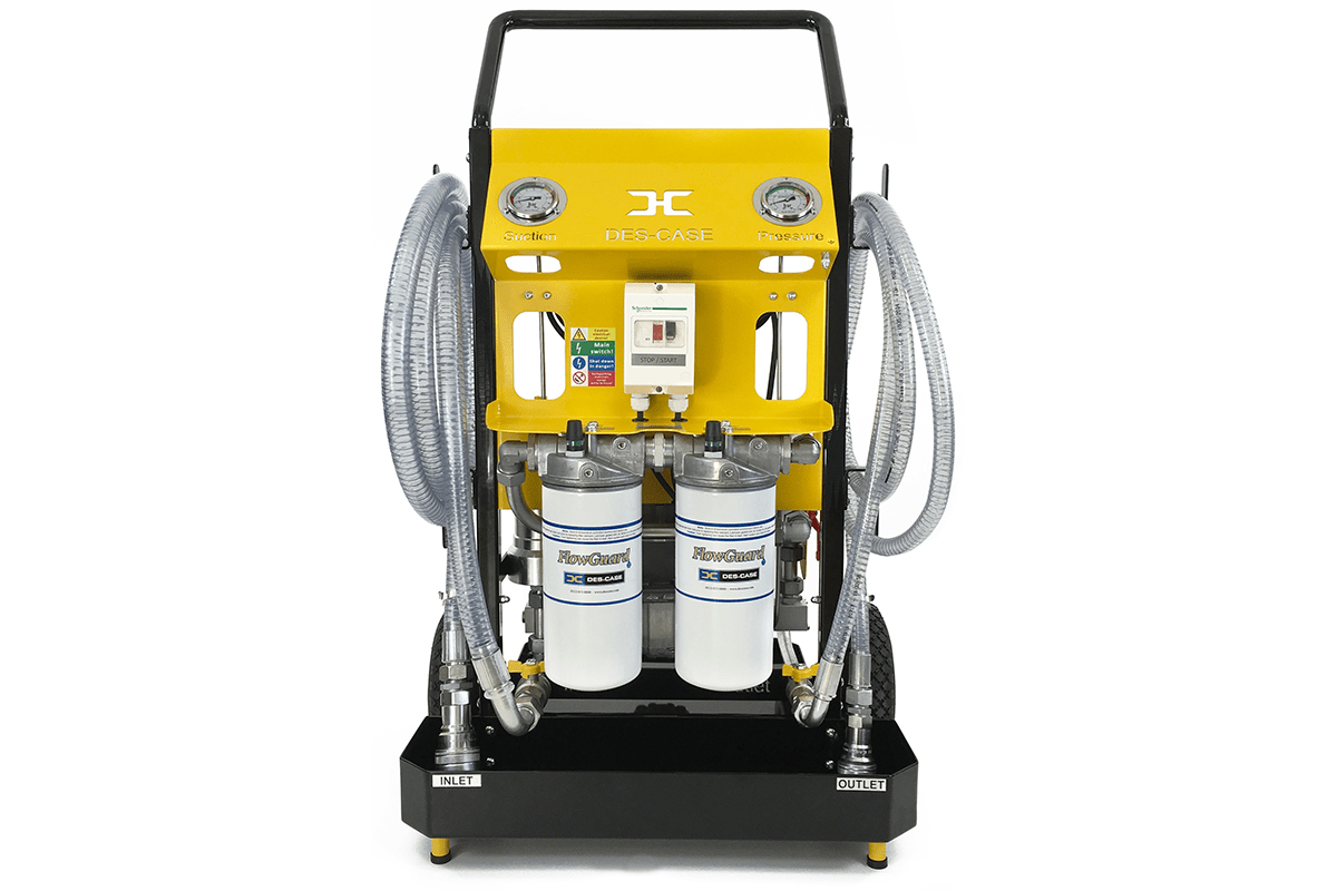 Des-Case CE Certified Filter Cart 3.2