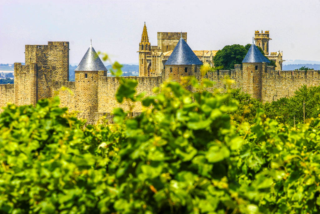 Châteaux, Cité de Carcassonne, Occitanie, Patrimoine, South of france, Sud de France