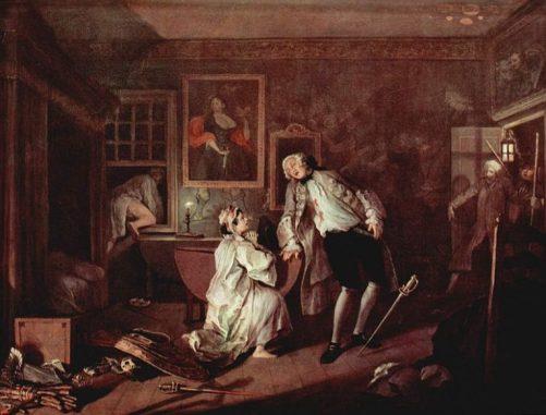 William Hogarth - Mariage à la mode