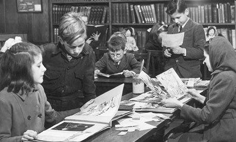 children-in-a-public-library-1946