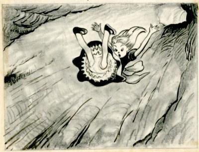 alice-falls-down-the-rabbit-hole