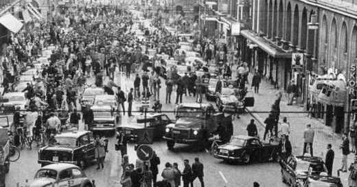 Dagen H The Day Sweden Switched From Driving On The Left to The Right (1)