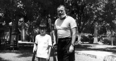 Ernest et Gregory Hemingway