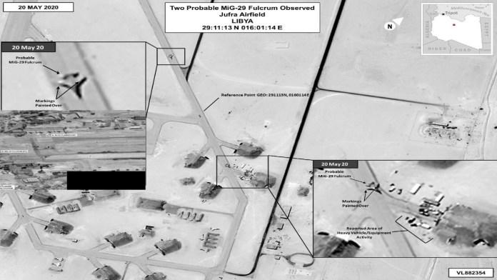 Cazabombarderos de orígen ruso en la base aérea de Al-Jufrah [20/05/2020]