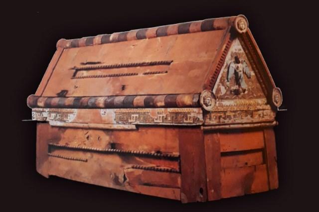 Arte Egipcia No Museu Egipcio Do Cairo Sarcofago De Madeira