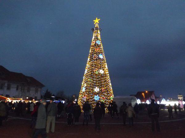 Revelion in aer liber la Drobeta Turnu Severin