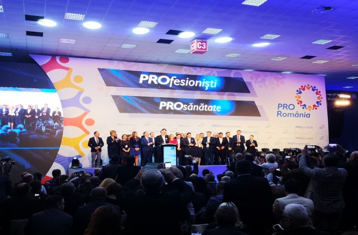 Liderii Pro România, Victor Ponta și Daniel Constantin vin la Drobeta Turnu Severin