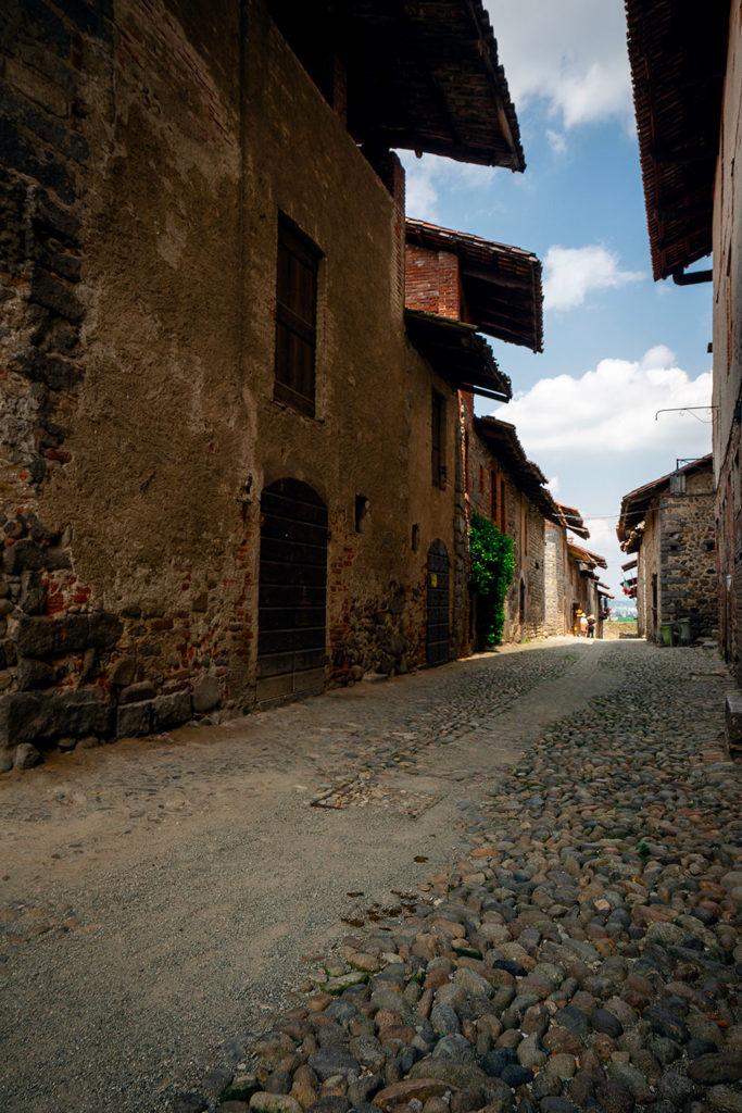 Ruas do borgo Medieval