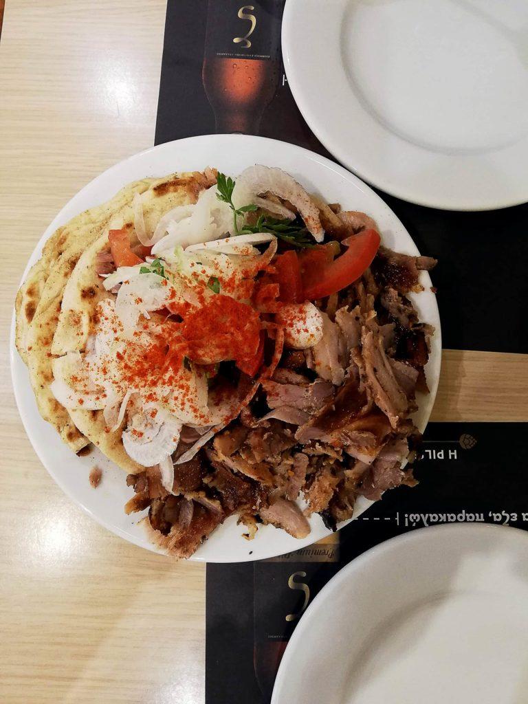 Comida em Atenas