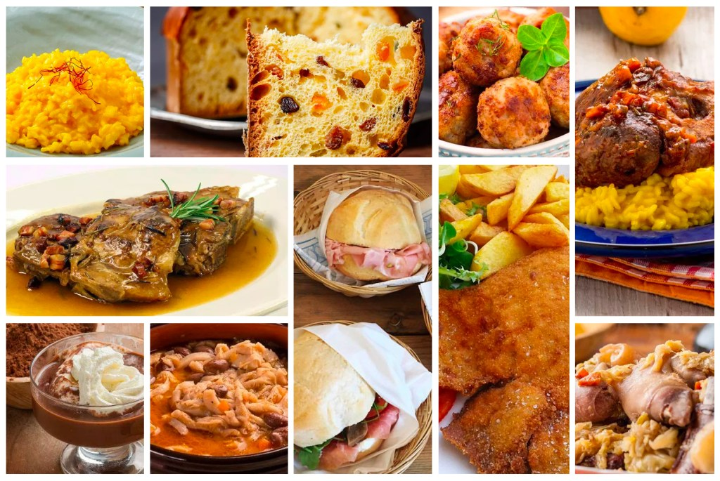 10 pratos típicos para provar em Milão