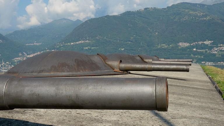 O Forte Montecchio Nord fica em Colico, a 1h30 de Milão e é a fortaleza mais bem preservada da Primeira Guerra Mundial em toda a Europa.