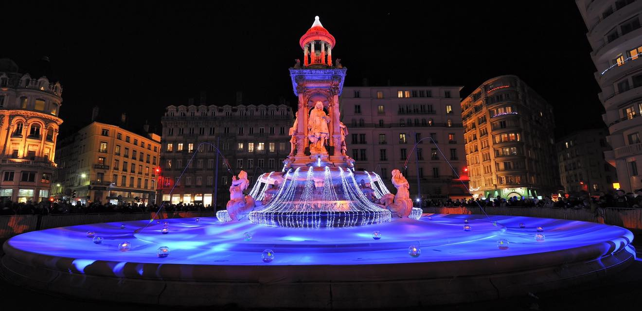 Lyon, Francia festival de las luces