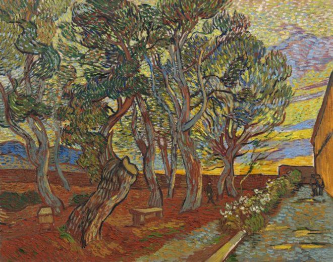 El jardín del asilo, de Vincent van Gogh.