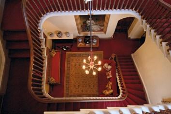 Castillo de Highclere, escalera interior