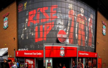 Estadio Anfield de Liverpool