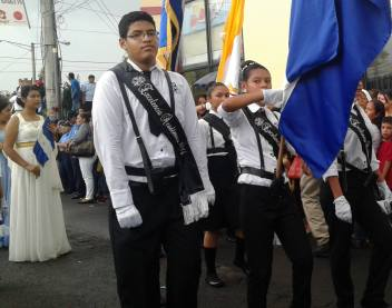 Desfile Fiestas Patrias Chinandega