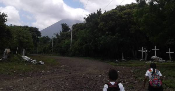 Comunidades cercanas al Volcán San Cristóbal