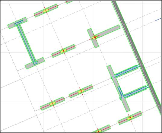 Muro-guía, diseño, ejecución, pozo