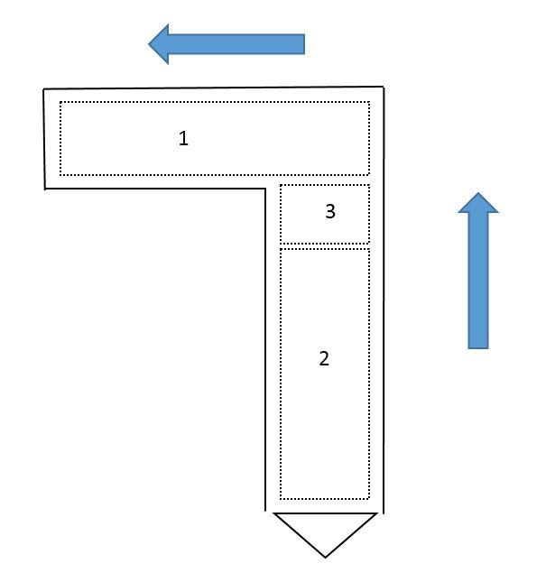 Muro guía, diseño, ejecución, batache, panelado, topografía, procedimiento