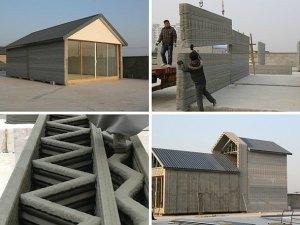 Casas impresas en China