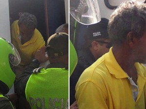 Conductor del autobus de Fundación al momento de ser detenido