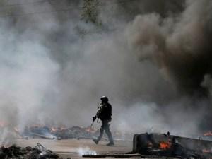 Ciudades bombardeadas por Kiev