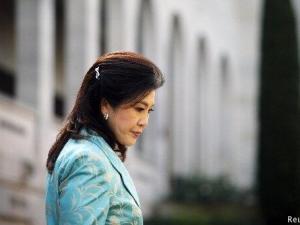 Primera Ministra tailandesa al momento de su destitución