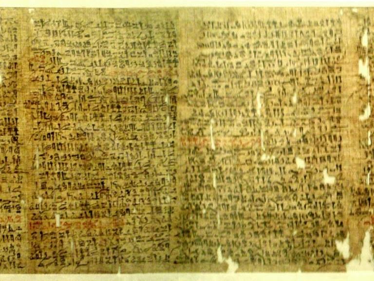 Papiro romano para comunicaciones en red
