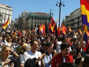 Rechazan protestas contra proclamación de Felipe VI
