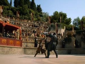 Games of Thrones-Episodio de la pelea