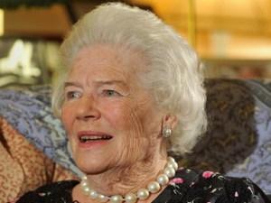 Mary Soames hija Sir Winston Churchill