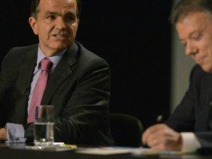 Santos y Zuluaga: Debate