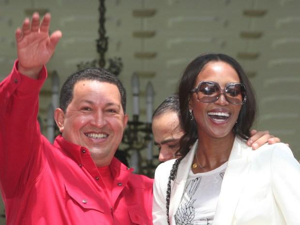 10 encuentros de famosos con Chávez (+Fotos)
