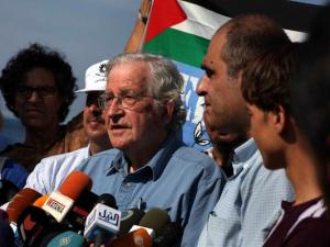 Gaza: Noam Chomsky apoyo a Palestina