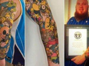 Tatuajes de Homero Simpson