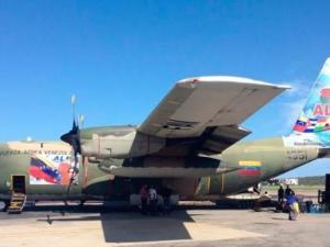 Avión venezolano con ayuda humanitaria llegó a Egipto