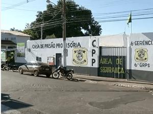 Fachada cárcel de Goáis en Brasil