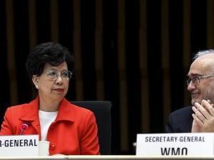 Presidenta de la OMS Margaret Chan en conferencia